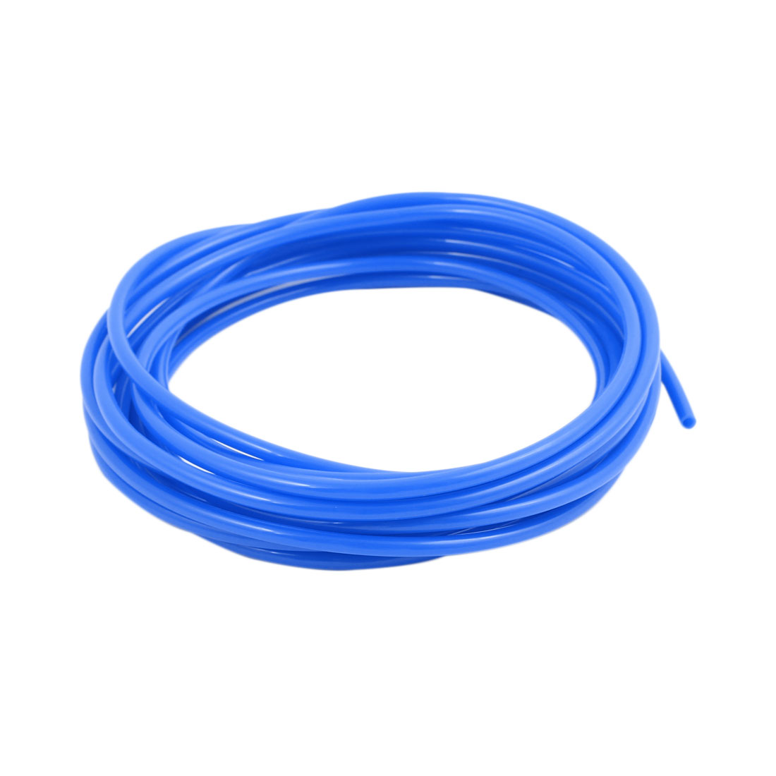 2.5mm x 4mm Pneumatic Air Compressor Tubing PU Hose Tube Pipe 4.2 meter Blue