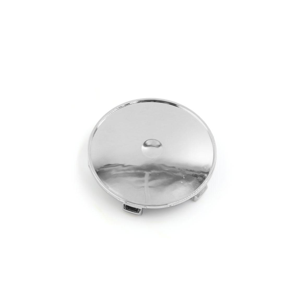 68mm Diameter 5 Lugs Plastic Wheel Rims Center Hub Cover Cap for Auto Car