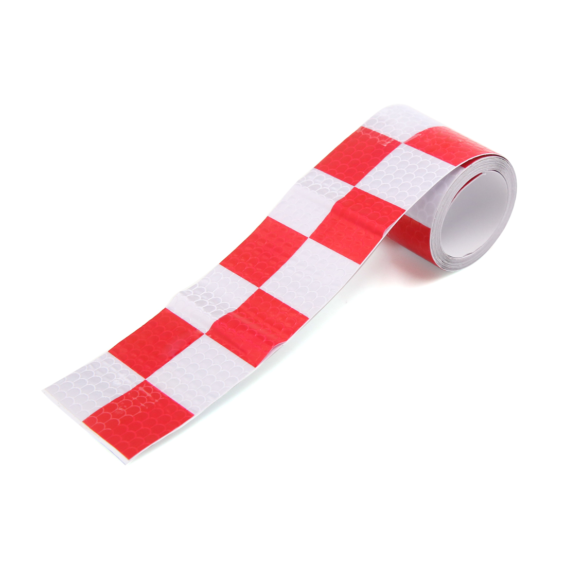 Red White Car Auto Truck Safety Warning Night Driving Reflective Sticker