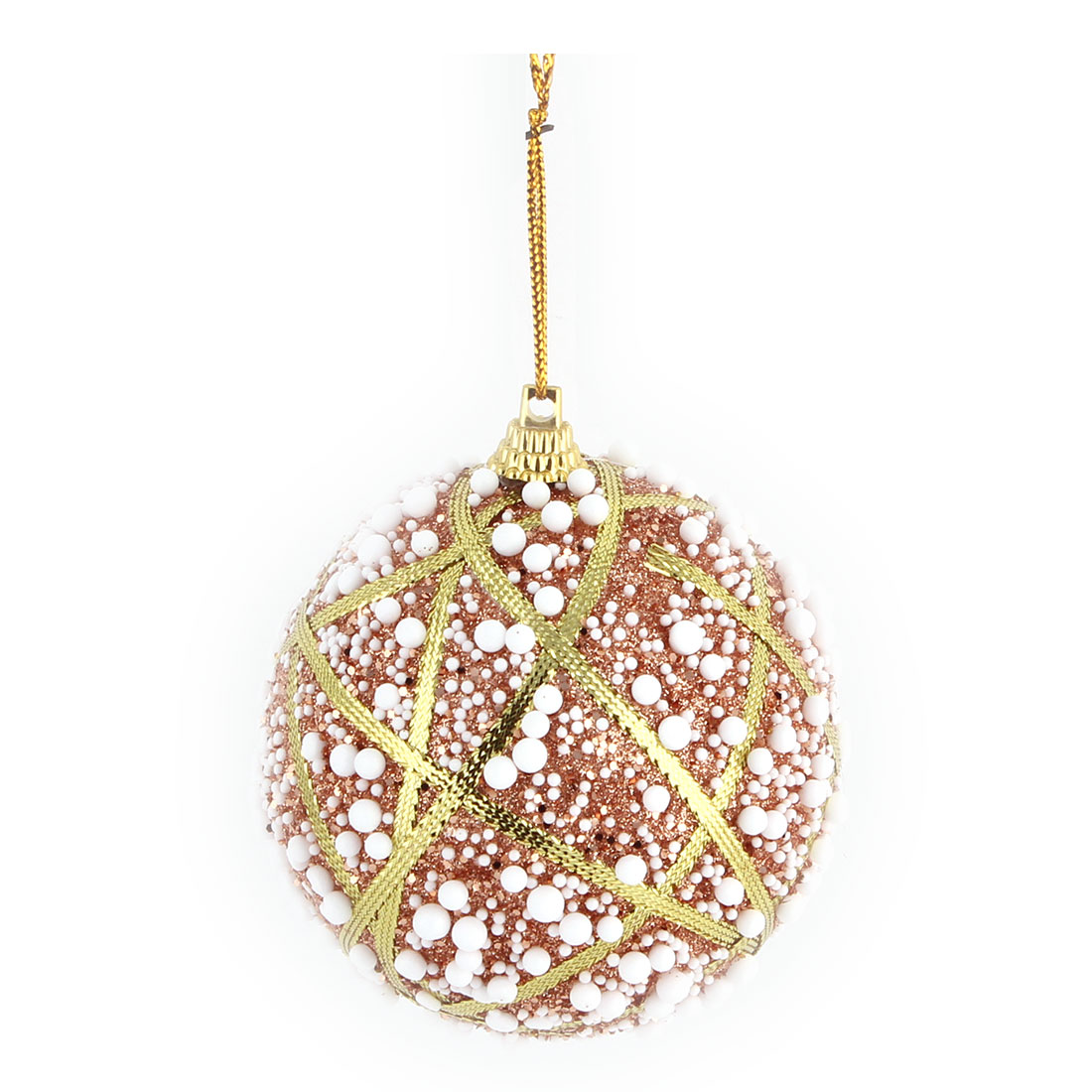 Home Christmas Party Foam Snowflake Artificial Collectible Festive Hanging Ball