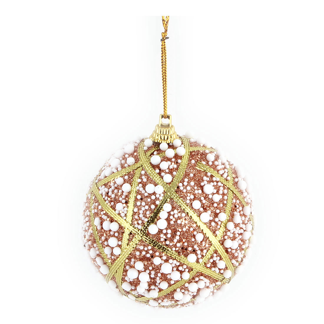 Home Christmas Party Foam Decor Artificial Collectible Hanging Widgets Ball