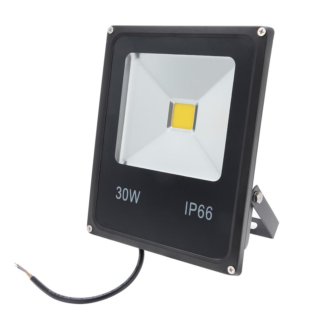 30W LED Flood Light Lamp Outdoor Spot Lamp 85-265V Waterproof Pure White IP65