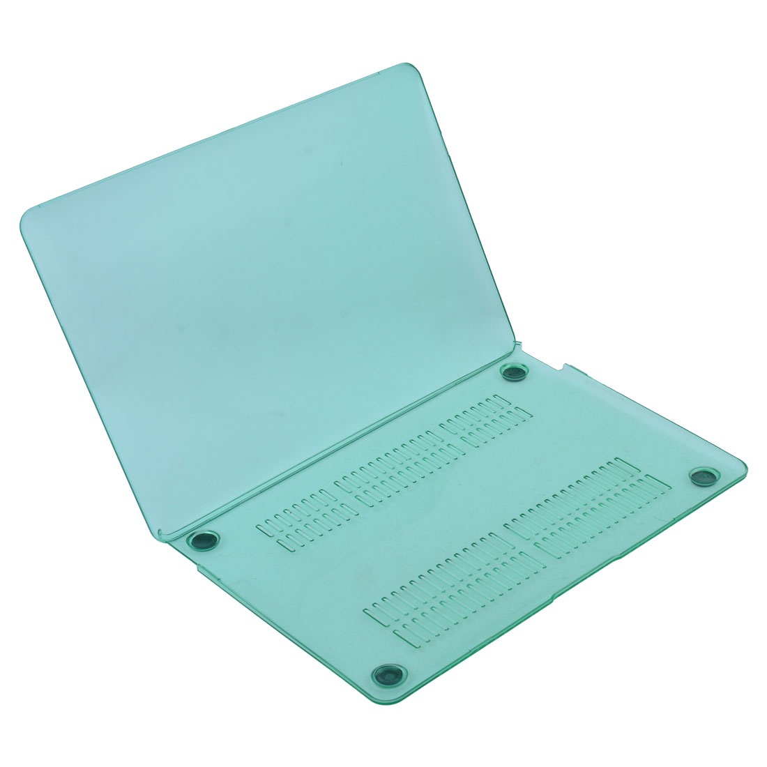 "Plastic Crystal Hard Case Shell Turquoise Blue for Apple Macbook 12"" Retina"