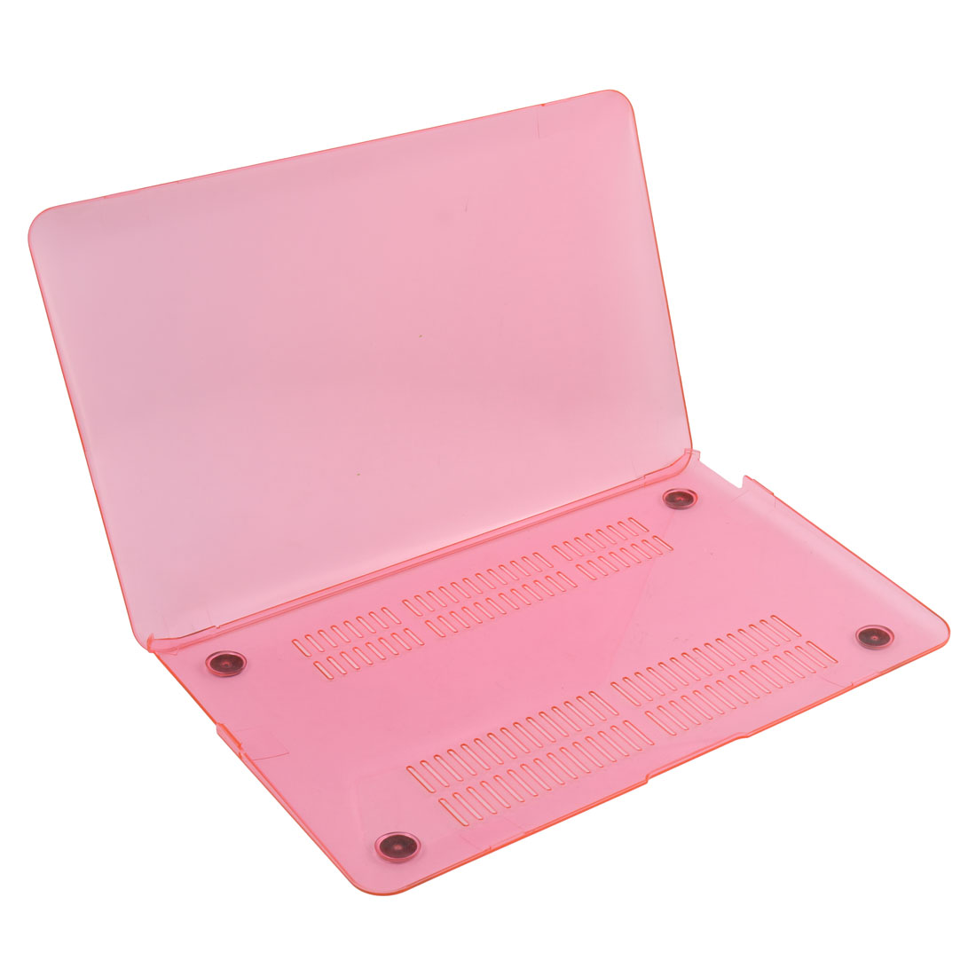 Home Laptop Plastic Anti-dust Shell Protective Hard Case Hot Pink for Macbook Air 11 Inch