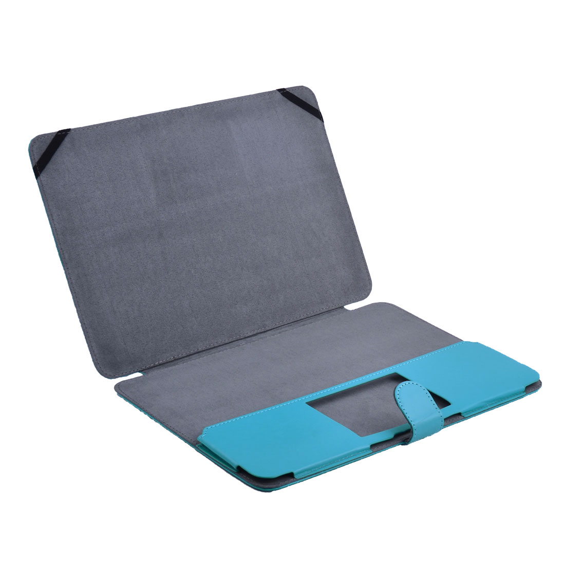 Laptop PU Leather Shell Case Sleeve Blue for MacBook Air 13.3 Inch