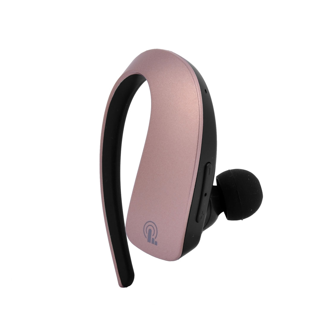 Car Noise Reduction Earhook Wireless Stereo V4.1 bluetooth Headphone Rose Gold