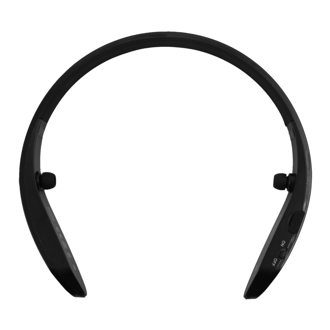 Sports bluetooth 4.0 Wireless Stereo Ring Collar Neckband Type Earphone Black