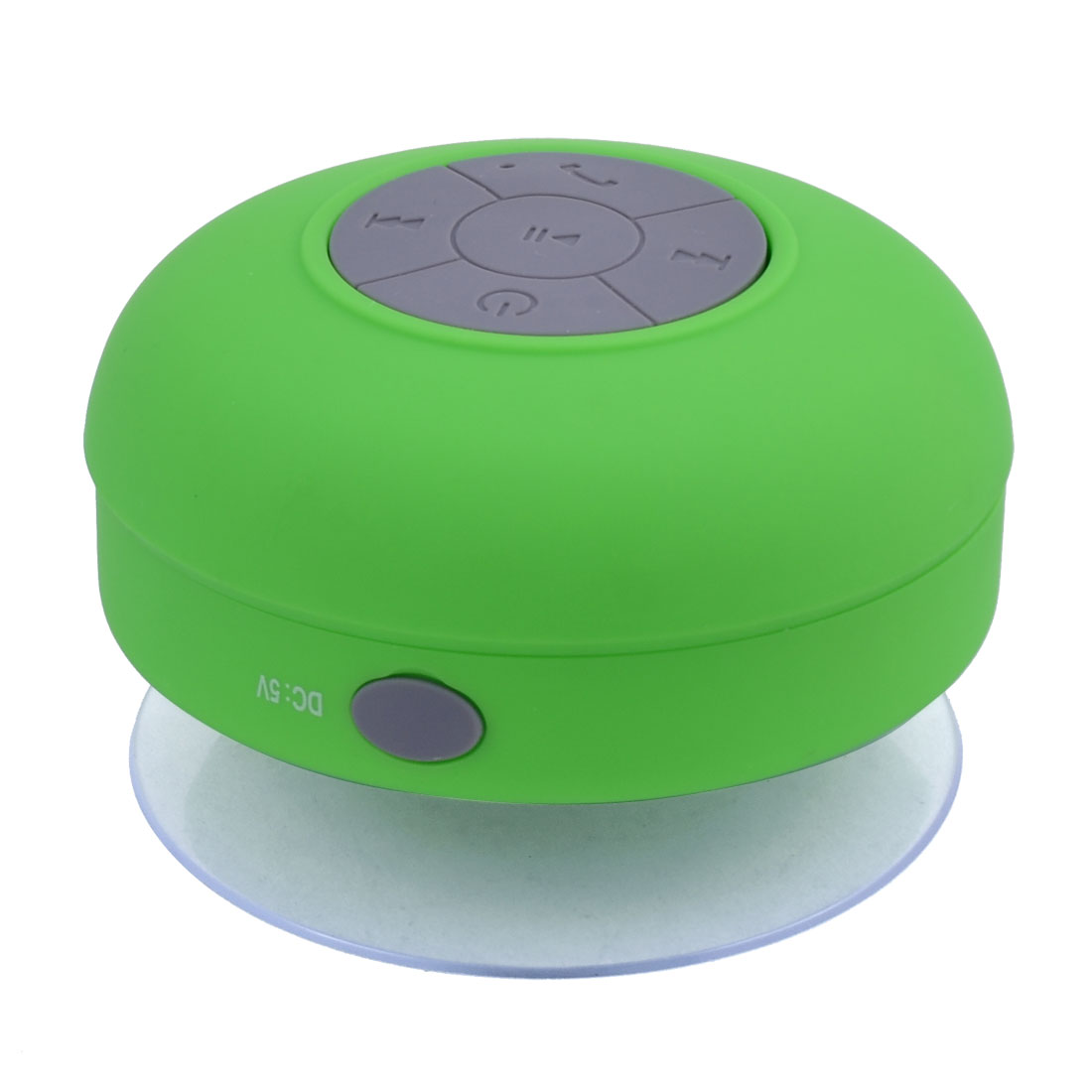 Tablet Portable Mini Wireless bluetooth Sucker Hand-free Call Stereo Speaker Green
