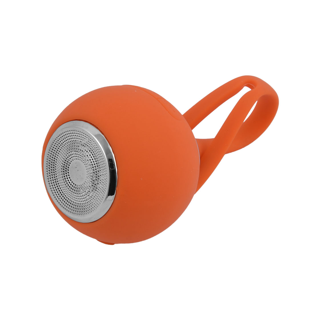 Outdoor Sports Silicone Portable Mini-card Stereo Subwoofer bluetooth Speaker Orange