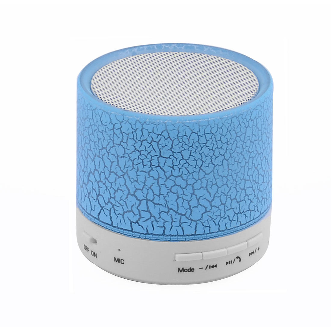 Laptop Mini Wireless bluetooth Support Micro SD Card Stereo Speaker Blue