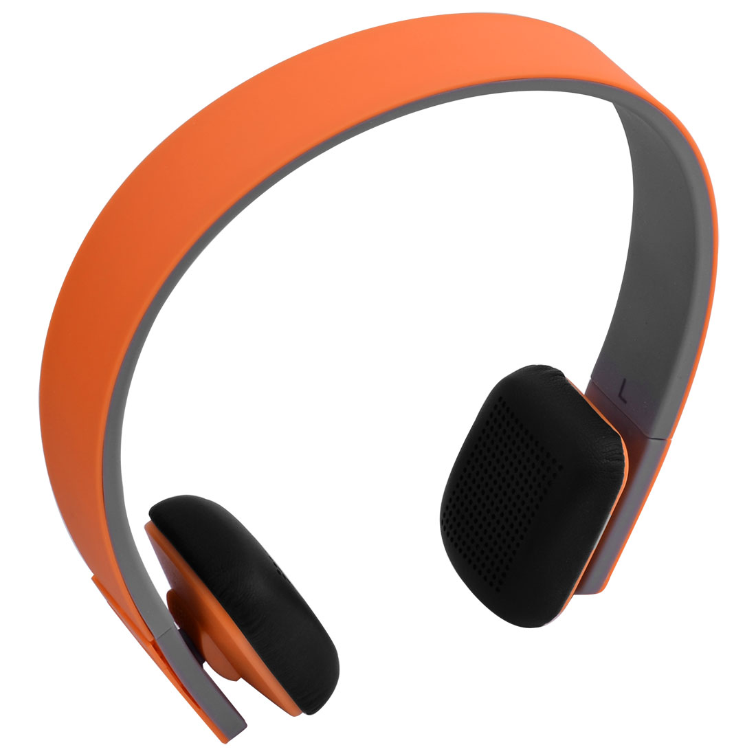 Tablet PC Noise Reduction Wireless bluetooth Stereo Headphones Headset Orange w USB Cable