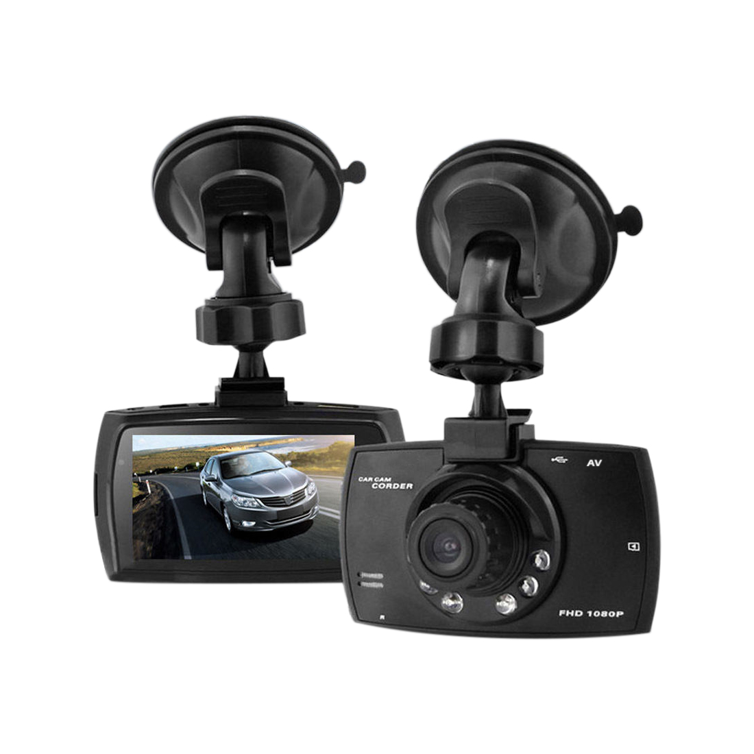 2.7 inch HD 1080P Car DVR Digital Video Recorder Vehicle Camera Camcorder with Night Vision / G-Sensor