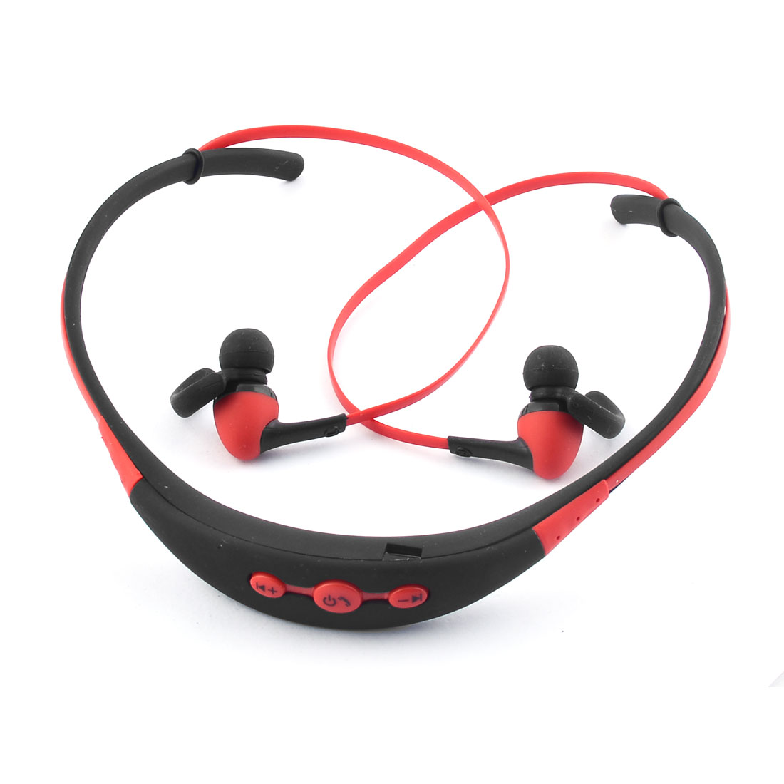Sport bluetooth 4.1 Wireless Stereo Handfree Neckband Type Earphone Headsets Red
