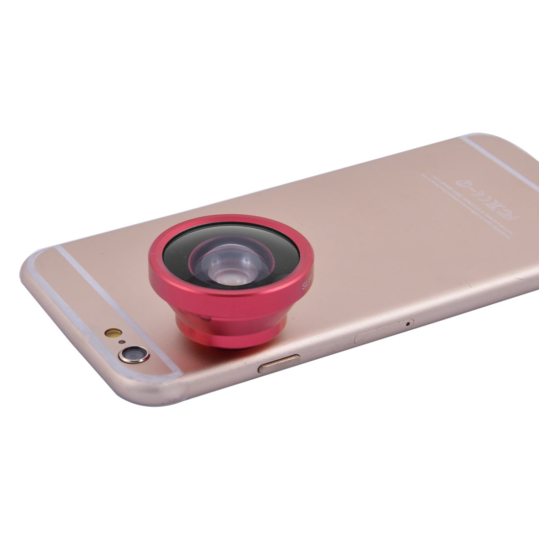 Smartphone Clip HD Super Wide 0.4X Angle Selfie Cam Lens Red for Mobile Phone