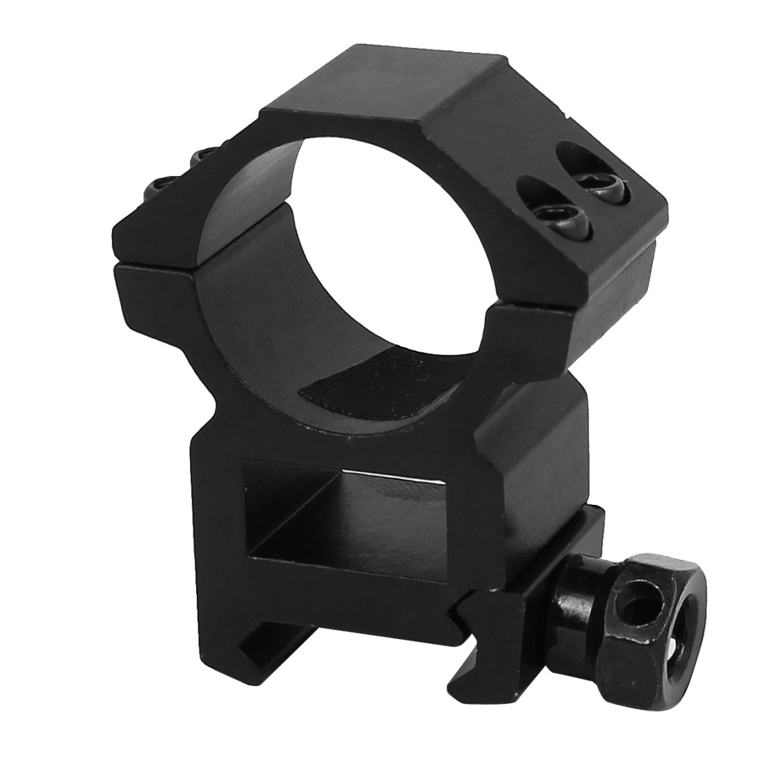 "Laser Flashlight Barrel Adapter Clamp Clip 51mm x 49mm x 20mm for 1"" Rail"