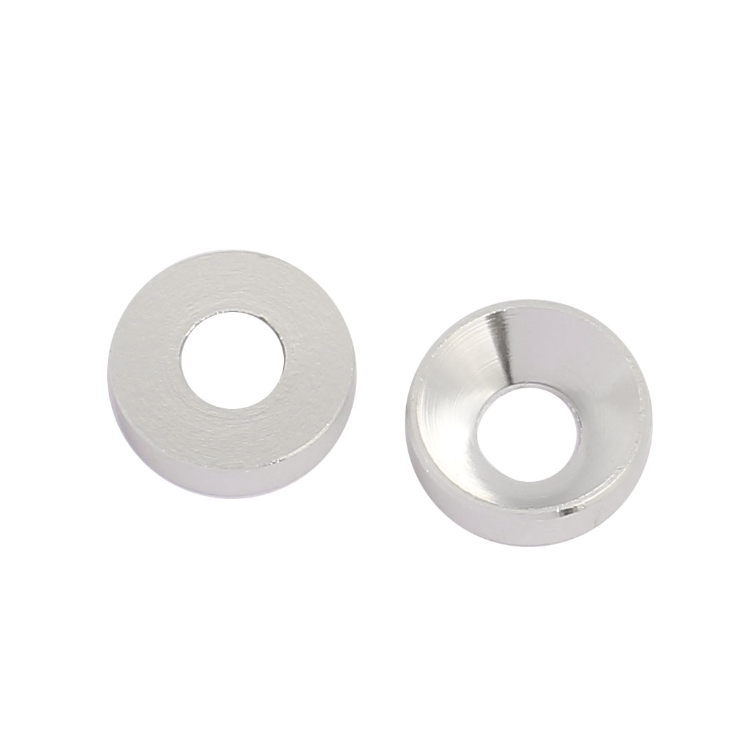 M5 Aluminum Alloy Silver Tone Countersunk Head Screw Spacer For RC DIY 2 Pcs