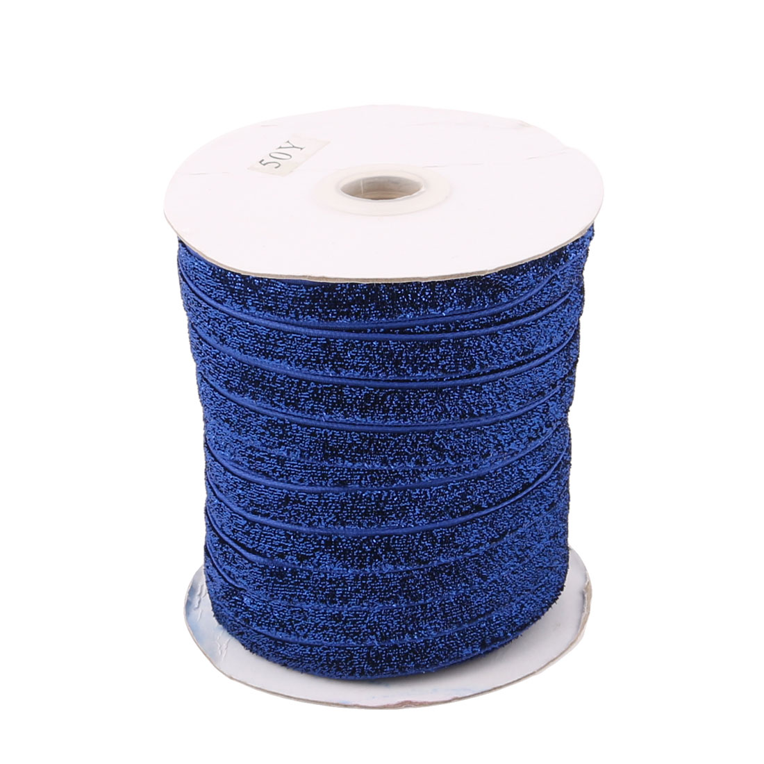 Festival Velvet DIY Appliques Decorations Ribbon Royal Blue 50 Yard 1cm Width