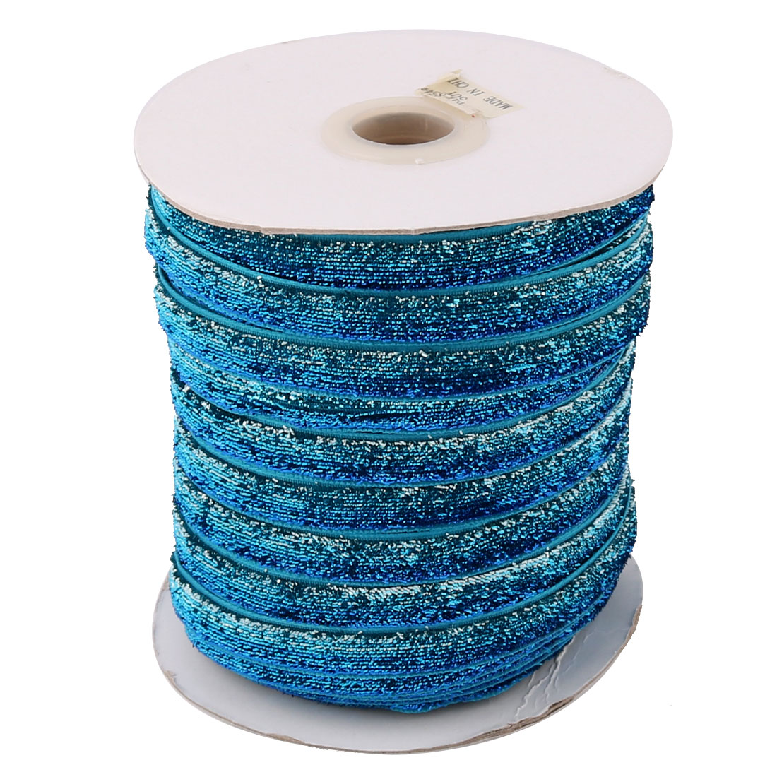 Household Decoration Velvet Sparkle Ribbon Multifunction DIY Gift Blue Teal