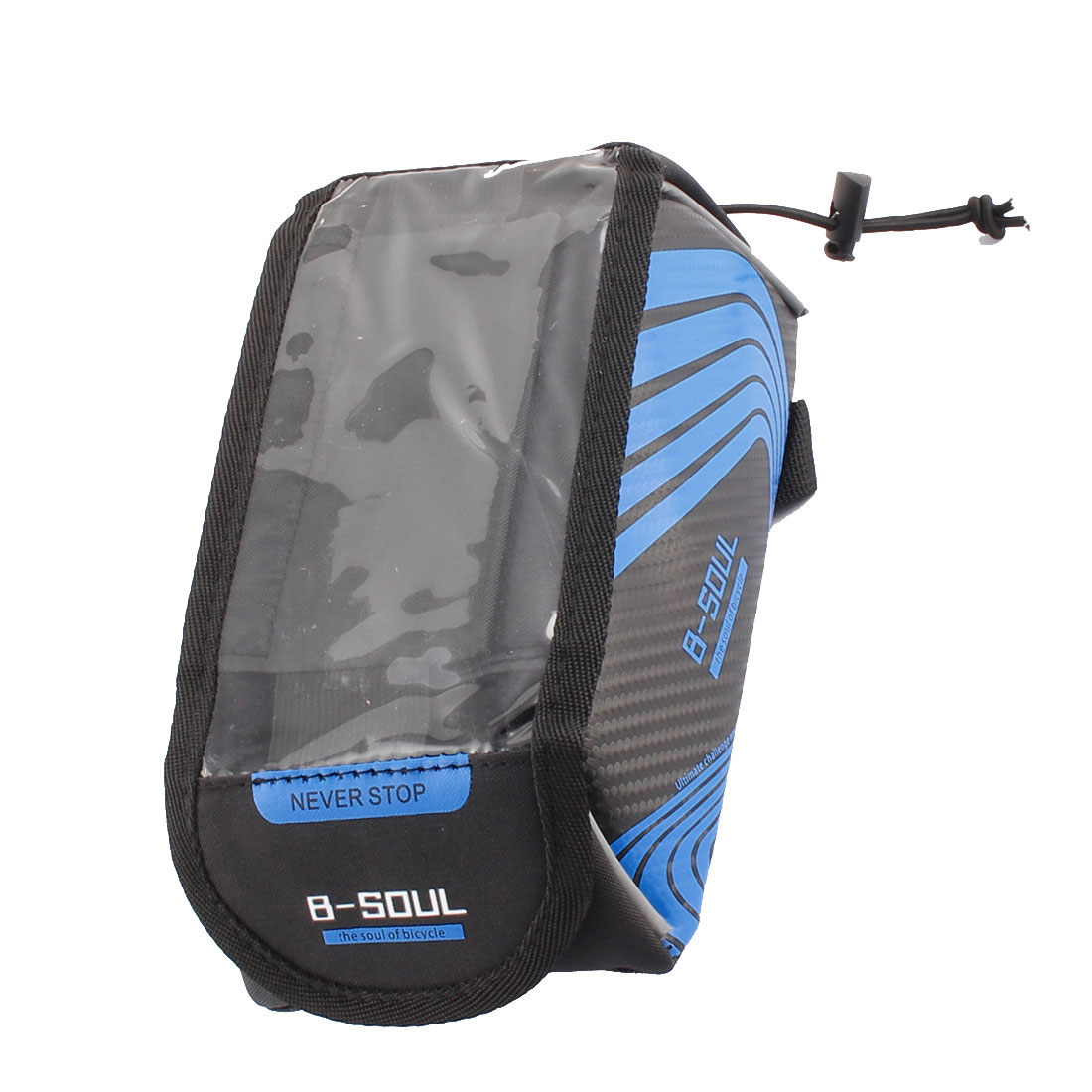 Cycling Mountain Bicycle Phone Holder Front Tube Bag Blue B-SOUL Authorized