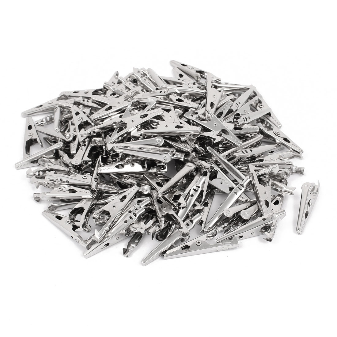 43mm Length Metal Test Alligator Electrical Clip Clamp Connector 140 Pcs