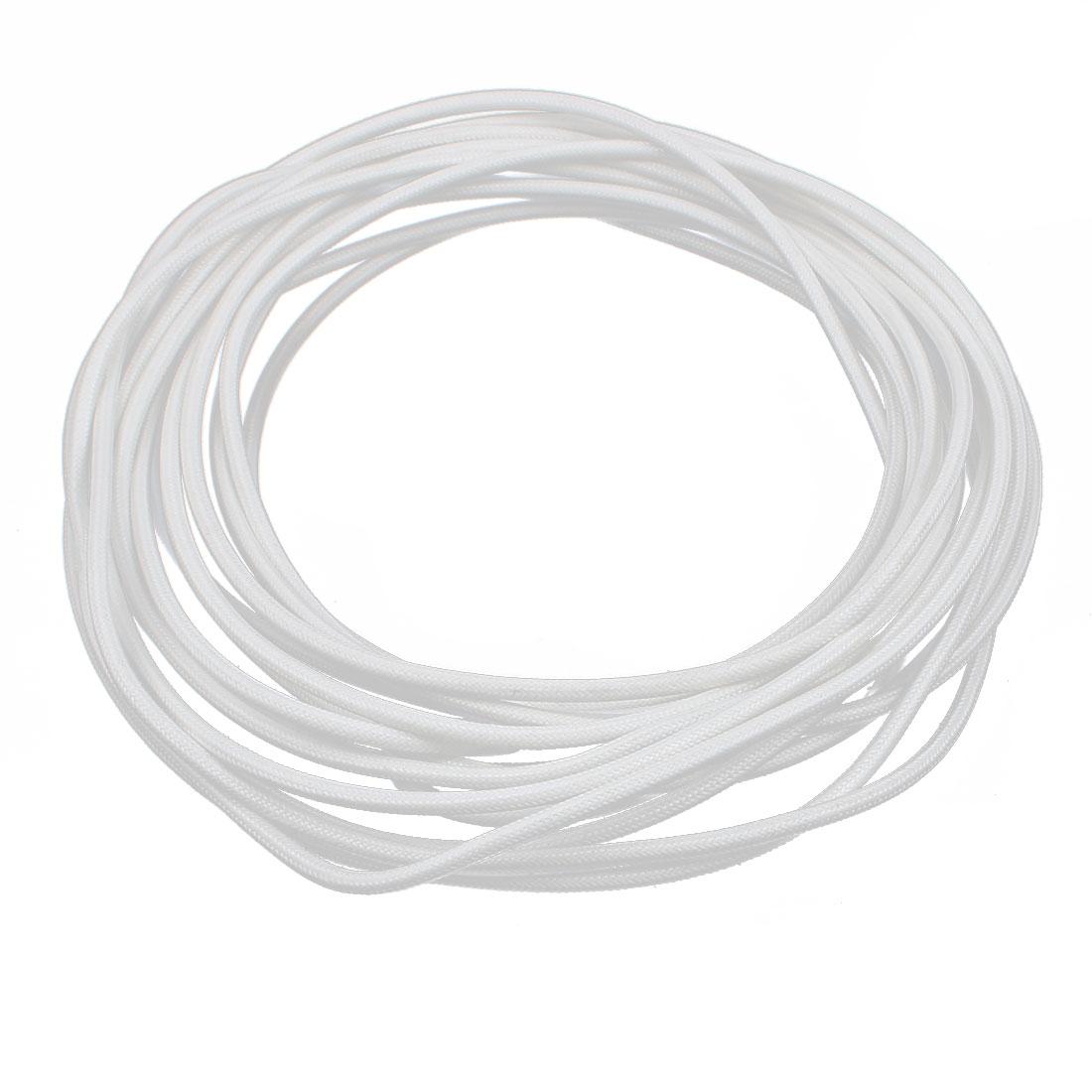 8M 2.5mm2 Electric Copper Core Flexible Silicone Wire Cable White