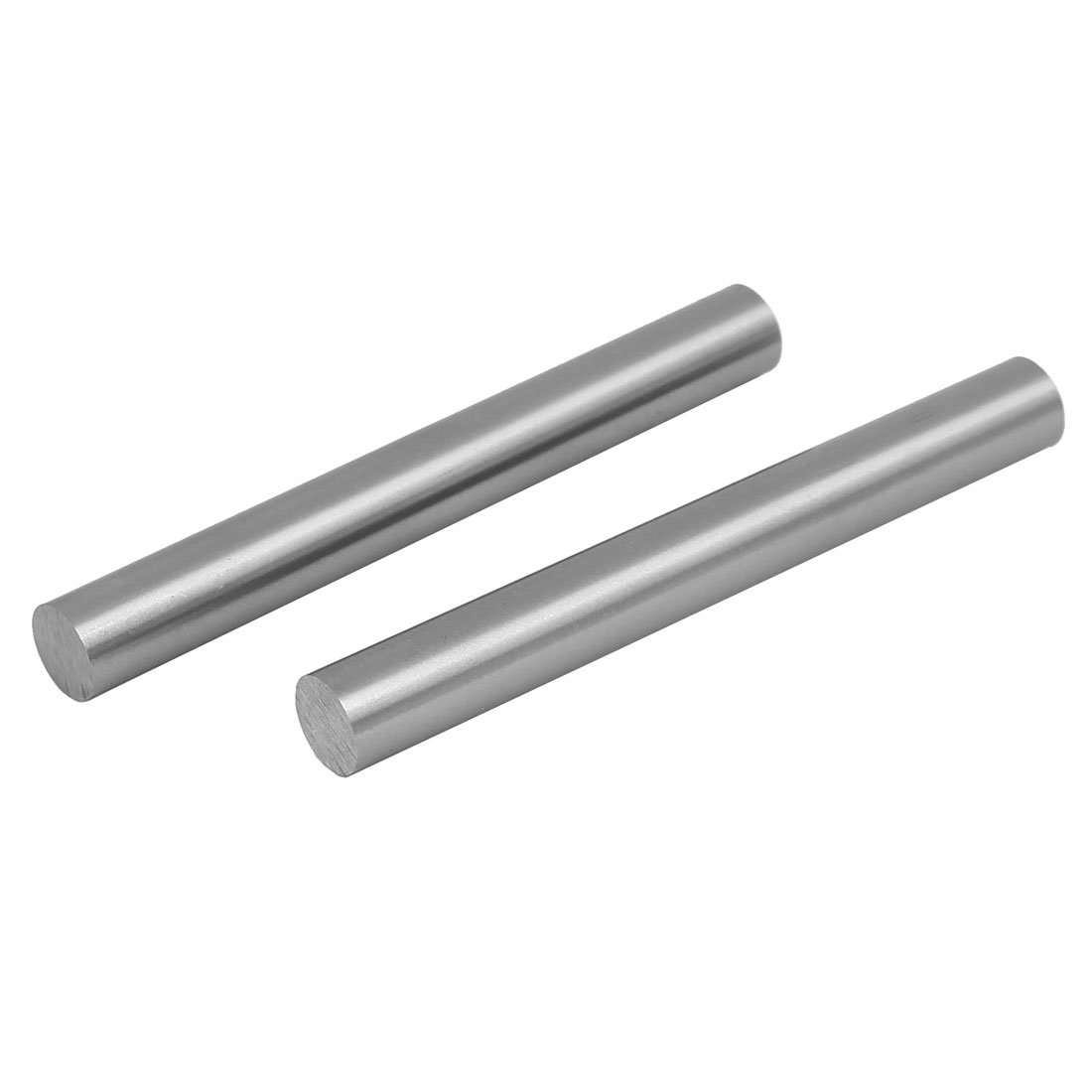 11.5mm Dia 100mm Length HSS Round Shaft Rod Bar Lathe Tools Gray 2pcs