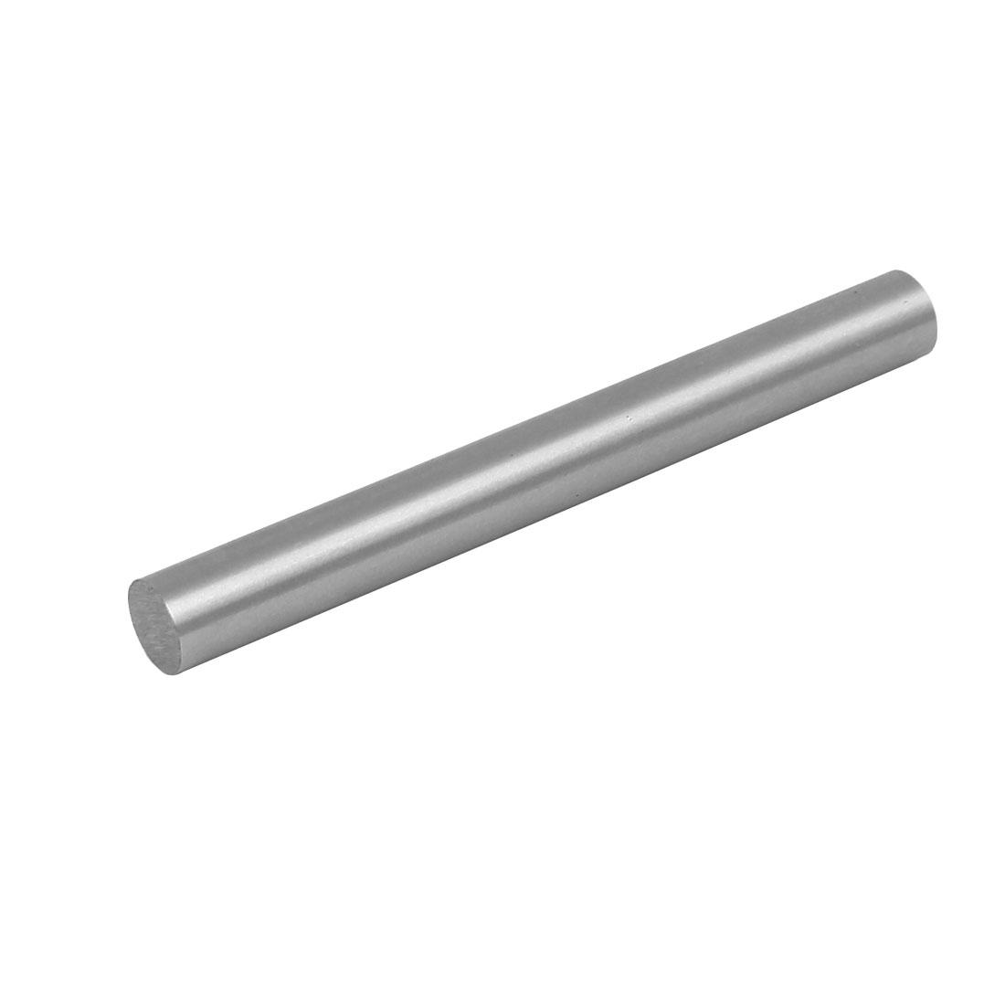 10.5mm Dia 100mm Length HSS Round Shaft Rod Bar Lathe Tools Gray