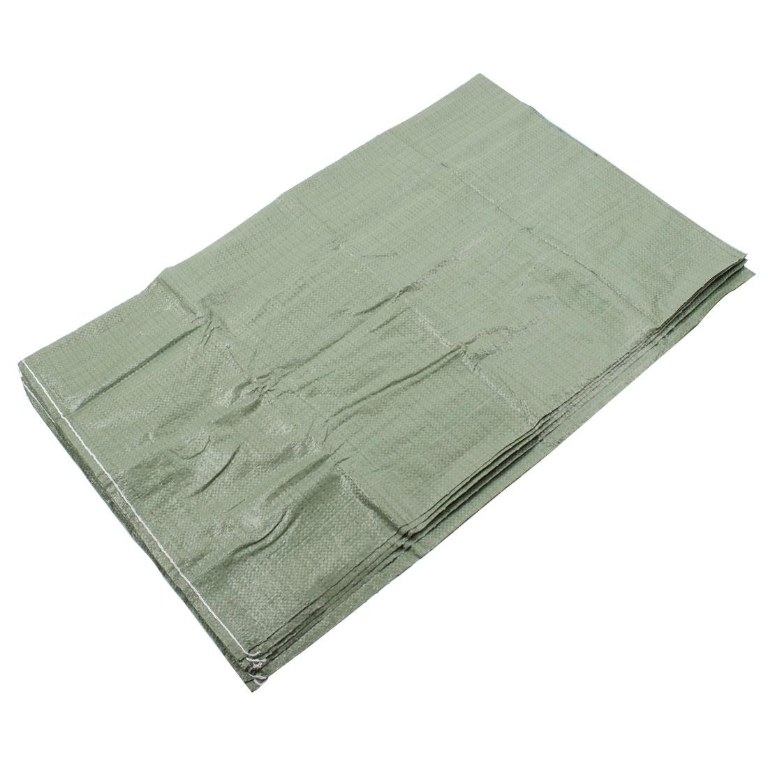 Building Logistics Express Plastic Cargo Packing Snakeskin Bag 100 x 60cm 5pcs