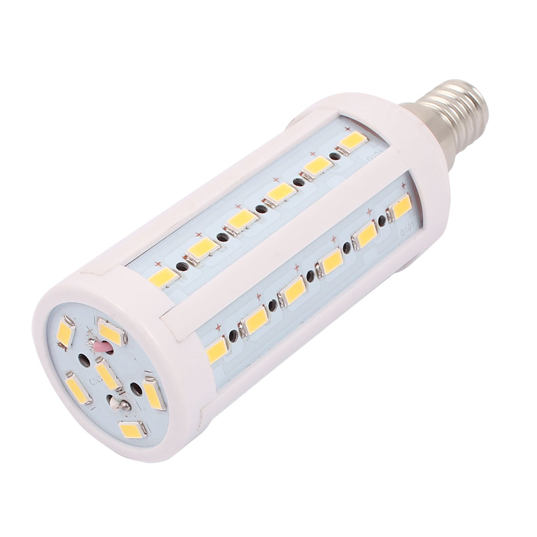 AC85-265V 10W 5730SMD LED E14 Energy Saving Corn Light Bulb Lamp Warm White