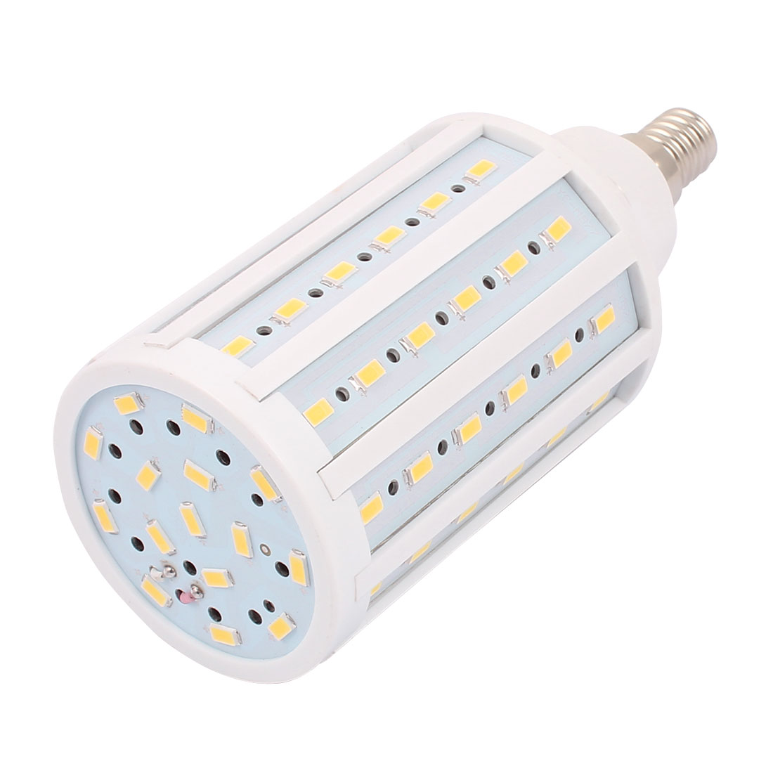 AC85-265V 20W 5730SMD LED E14 Energy Saving Corn Light Bulb Lamp Warm White