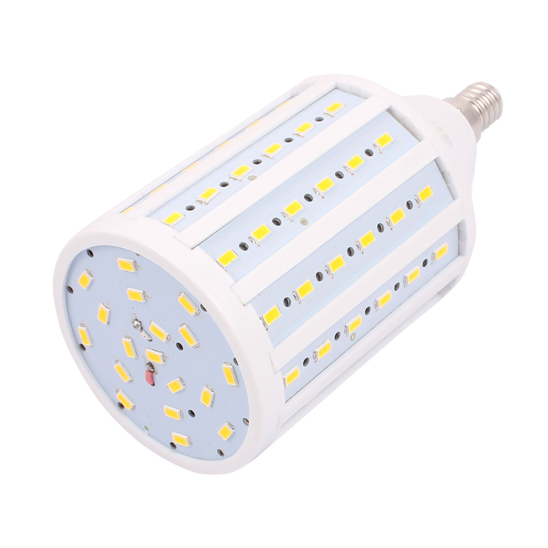 AC85-265V 25W 5730SMD LED E14 Energy Saving Corn Light Bulb Lamp Pure White