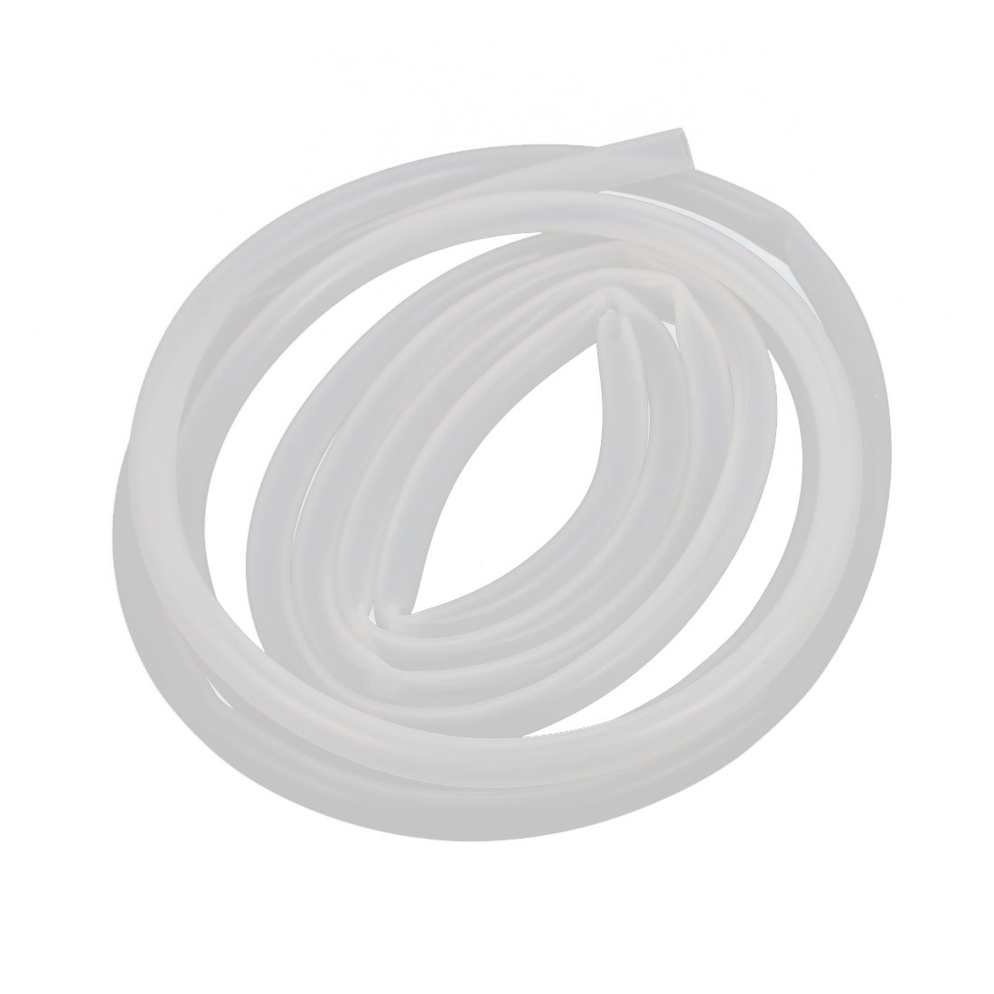 5mm x 7mm Translucent Silicone Tube DIY Hose Pipe 2 Meter Length