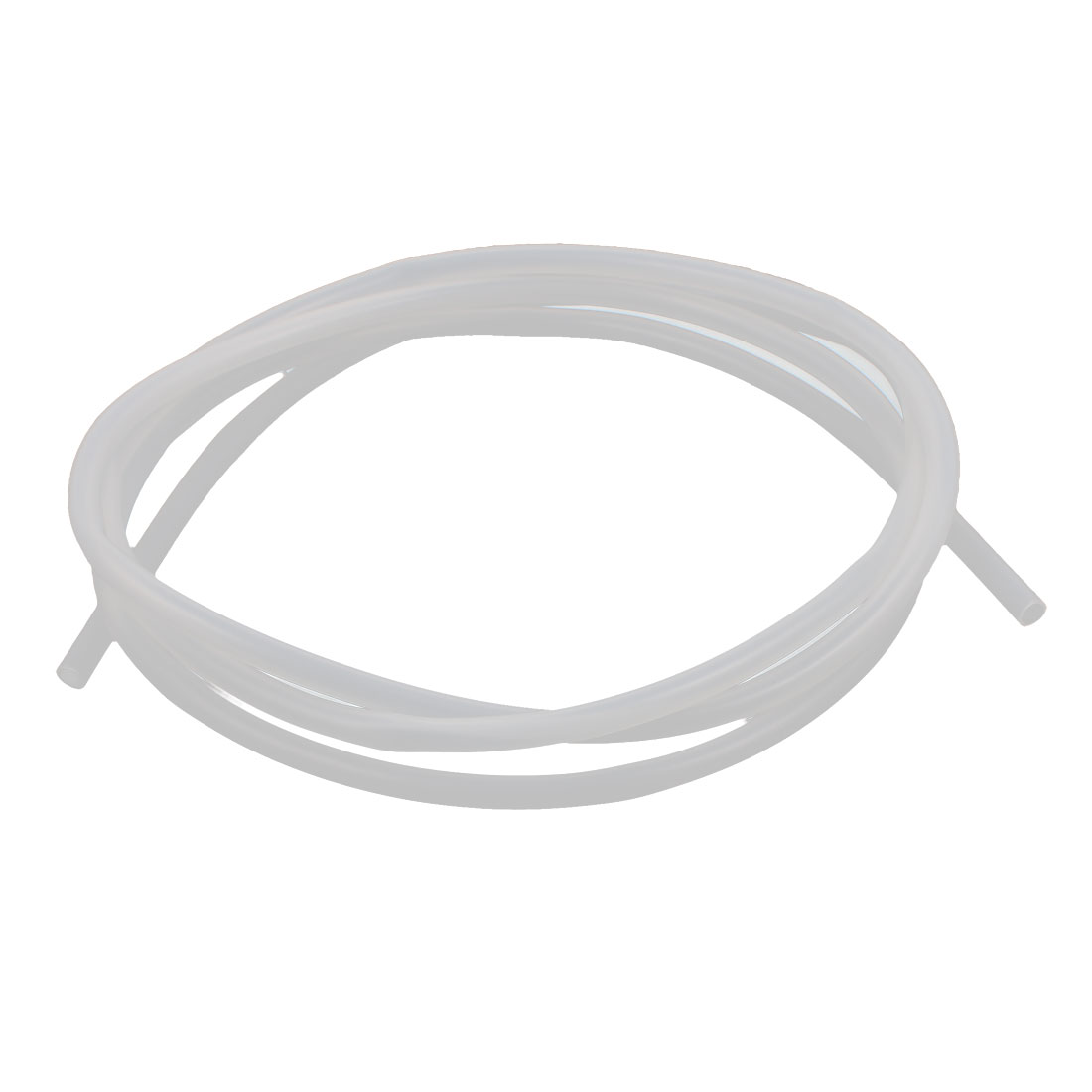 5mm x 7mm Translucent Silicone Tube Water Heat Resistant Hose Pipe 2 Meters Length