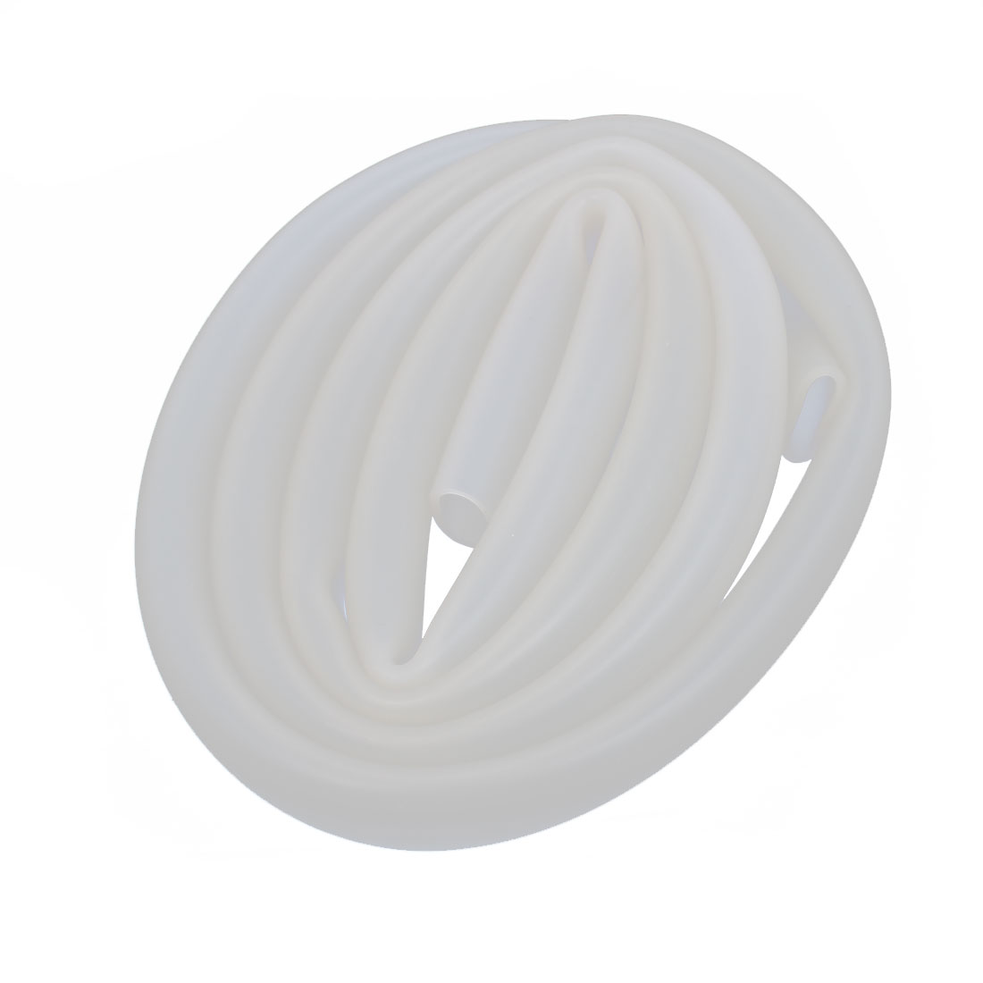 10mm x 12mm Heat Resistant Beige Silicone Tube Water Air Pump Hose 1M Length