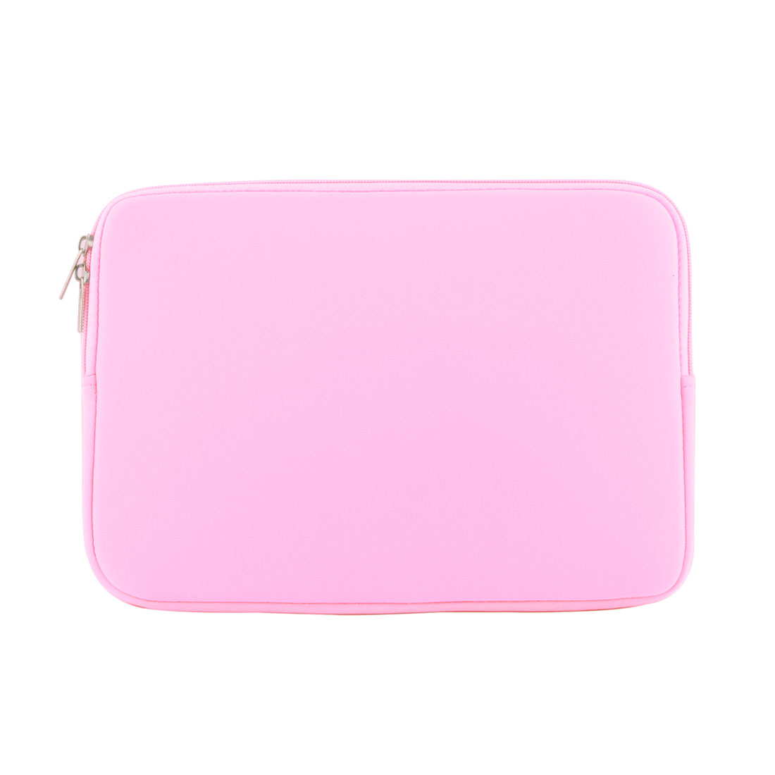 Office Computer Neoprene Dual Zipper Carry Pouch Laptop Sleeve Pink for MacBook Pro Air 12 Inch