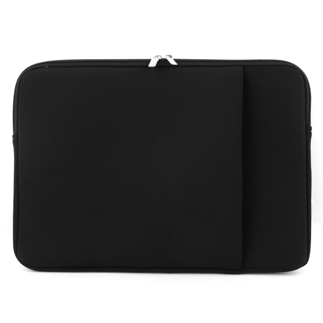 PC Dual Zipper Pouch Laptop Sleeve Bag Black for MacBook Pro Air 11 Inch
