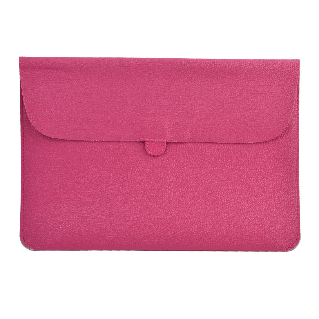 """Carrying Laptop Case Pouch Envelope Shape Tablet Sleeve Bag Fuchsia for Macbook 13.3"""""""