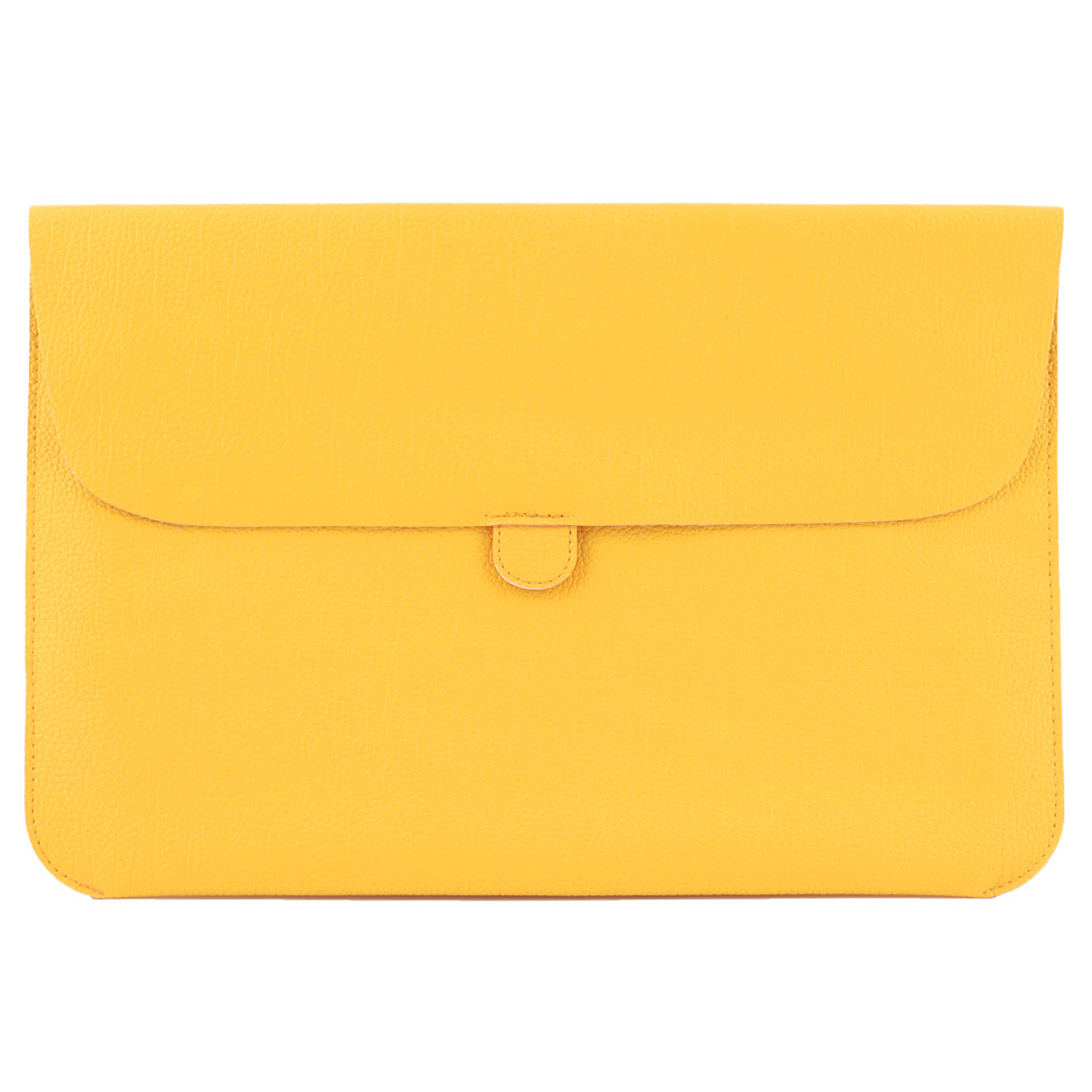 PC Computer PU Leather Sleeve Case Puoch Protective Yellow for Macbook Air 11 Inch