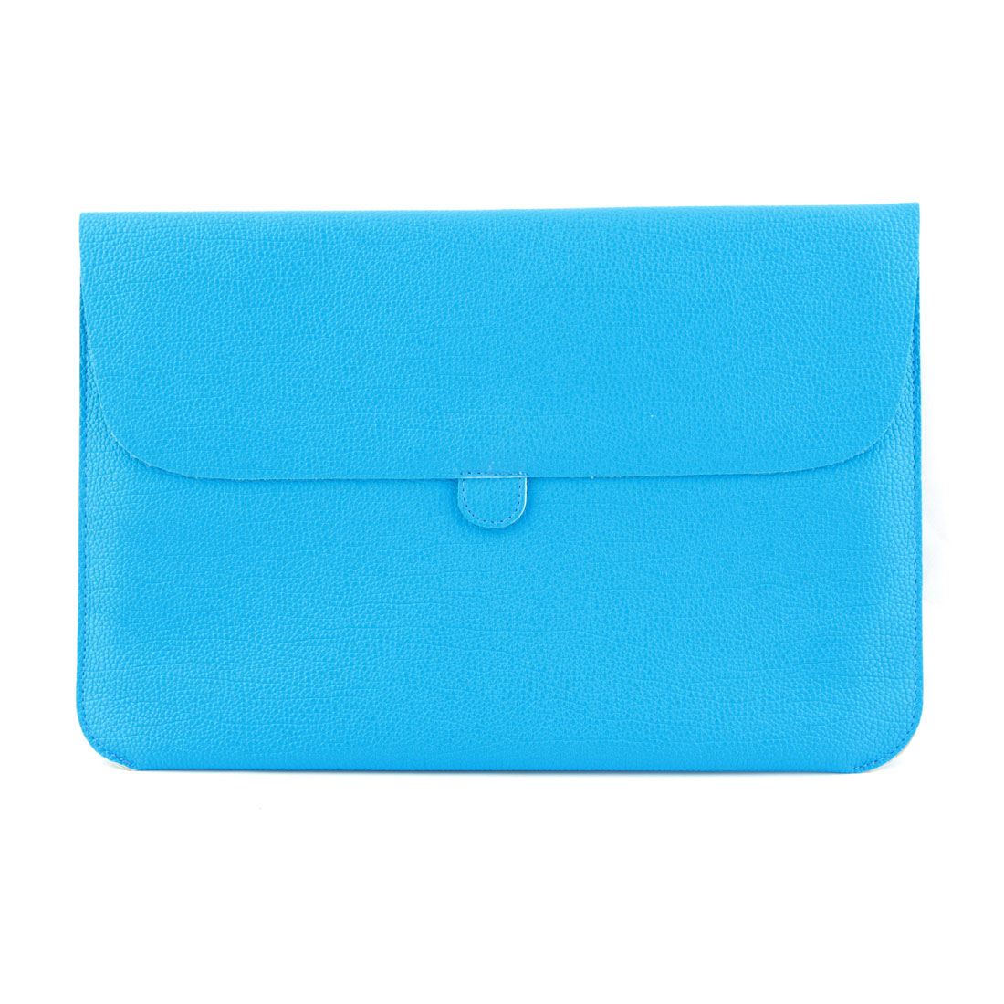 PC Computer PU Leather Sleeve Case Puoch Cover Sky Blue for Macbook Air 11 Inch