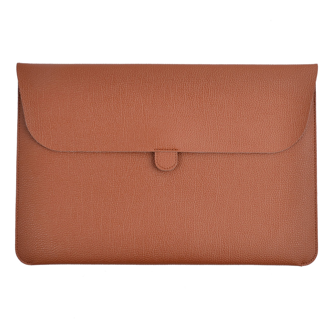 """Carrying Laptop Case Pouch Envelope Shape Tablet Sleeve Bag Brown for Macbook 13.3"""""""