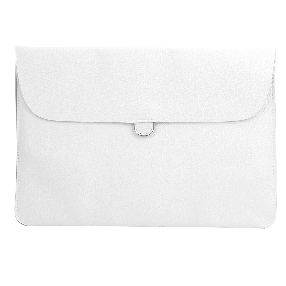 """Carrying Laptop Case Pouch Envelope Shape Tablet Sleeve Bag White for Macbook 13.3"""""""