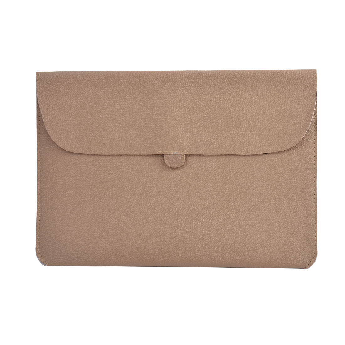 Carrying Laptop Case Pouch Envelope Shape Tablet Sleeve Bag Khaki for Macbook 13.3""