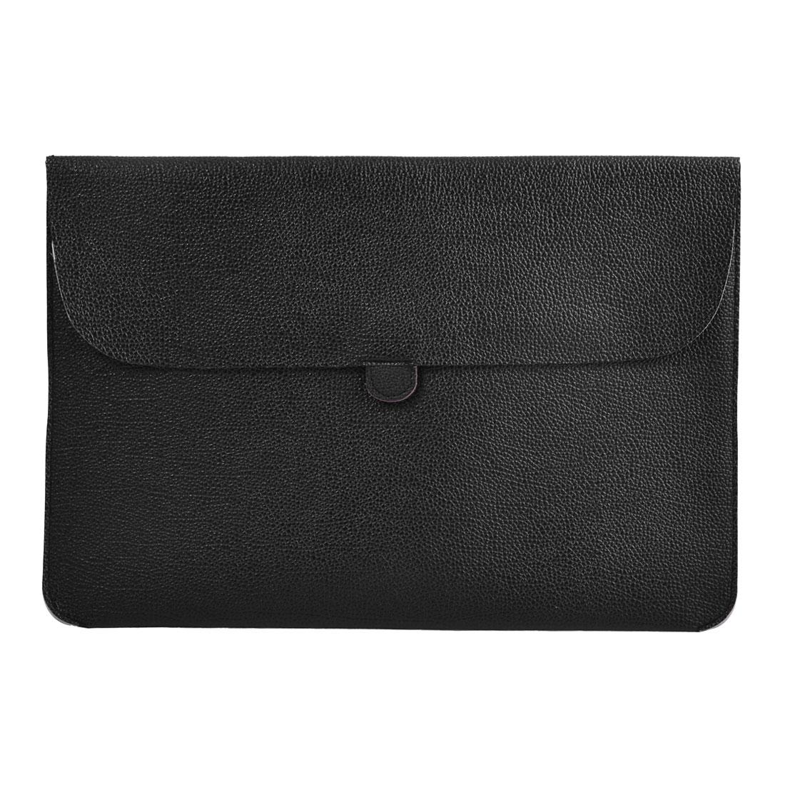 "Carrying Laptop Case Pouch Envelope Shape Tablet Sleeve Bag Black for Macbook 13.3"""