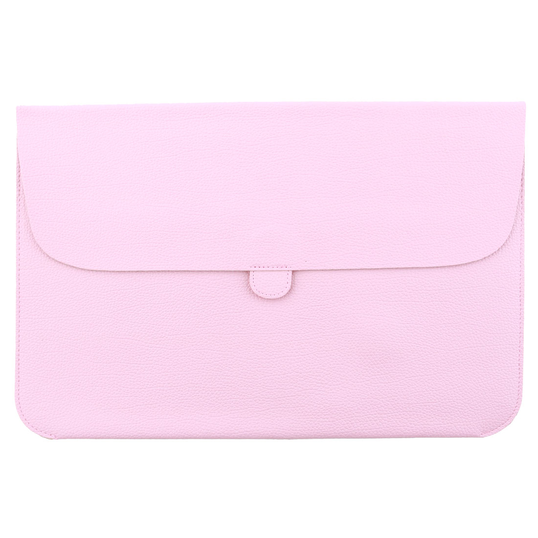 Laptop PU Leather Protective Sleeve Case Bag Pouch Cover Pink for Macbook Air 11 Inch