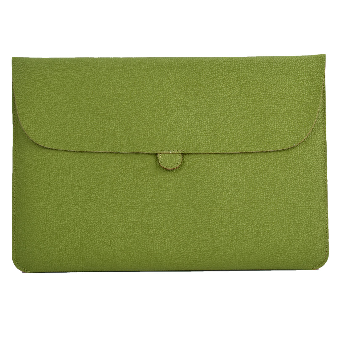 Carrying Laptop Case Pouch Envelope Shape Tablet Sleeve Bag Lawn Green for Macbook 13.3""