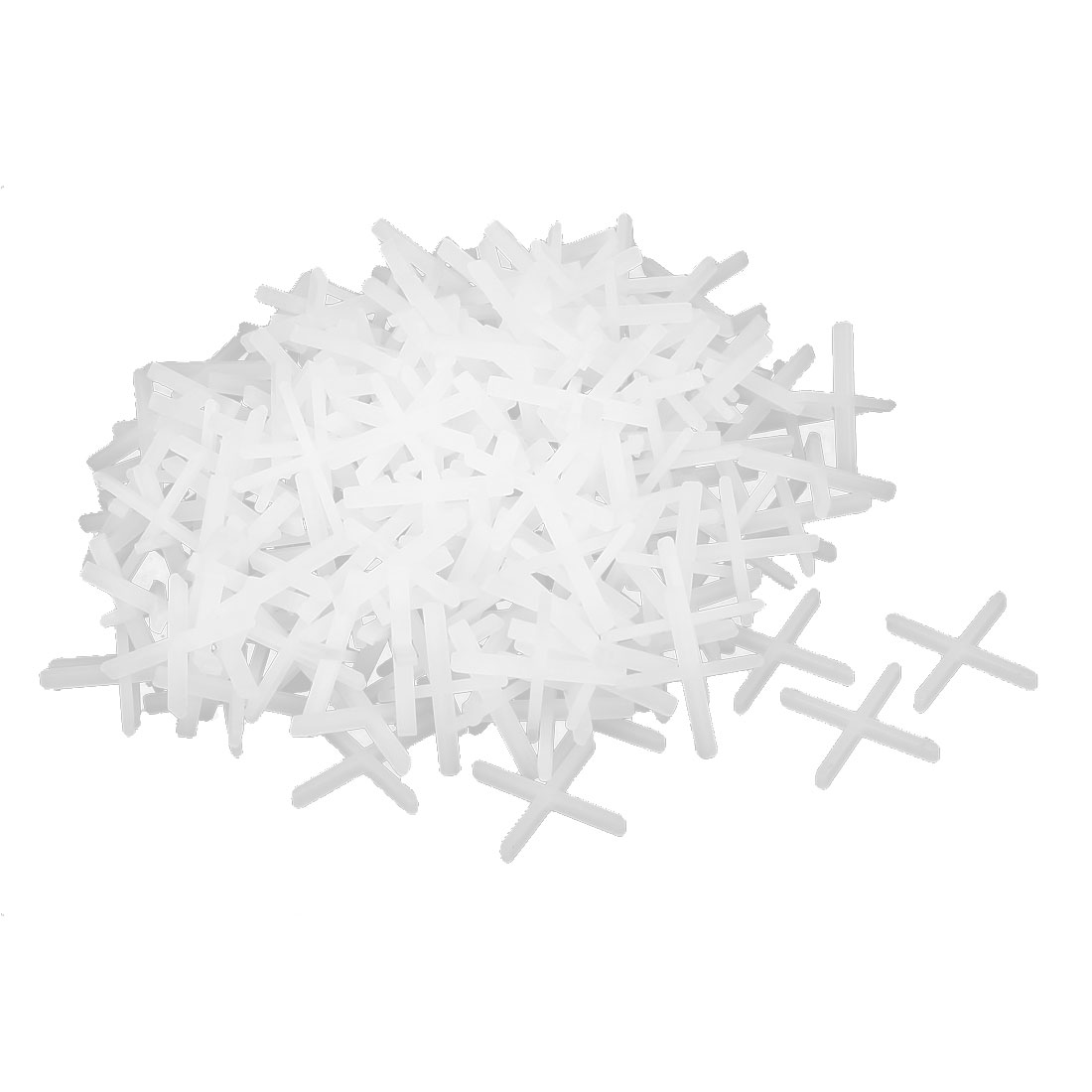 Wall Floor Tile Plastic Cross Spacer 1.5mm White 200pcs