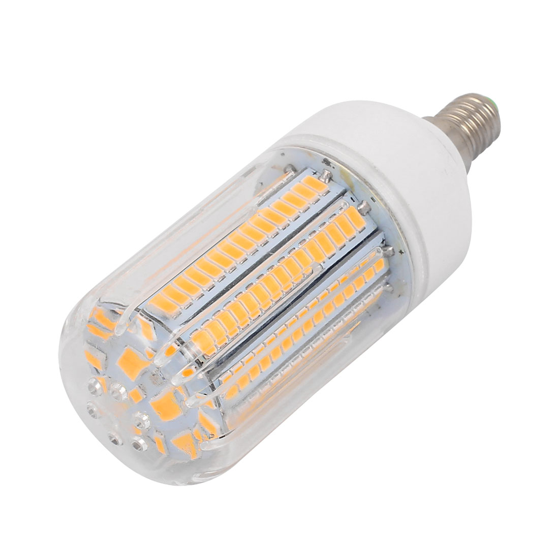 AC 220V E14 15W Warm White 170 LEDs 5736 SMD Energy Saving Silicone Corn Light Bulb