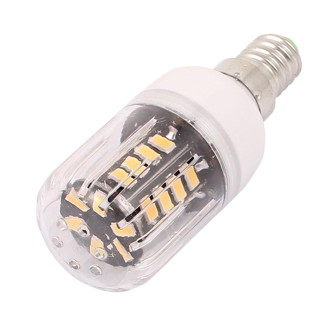 AC 220V New Super Bright E14 3W 30 LEDs 5733 SMD Energy Saving Corn Bulb Lamp Warm White