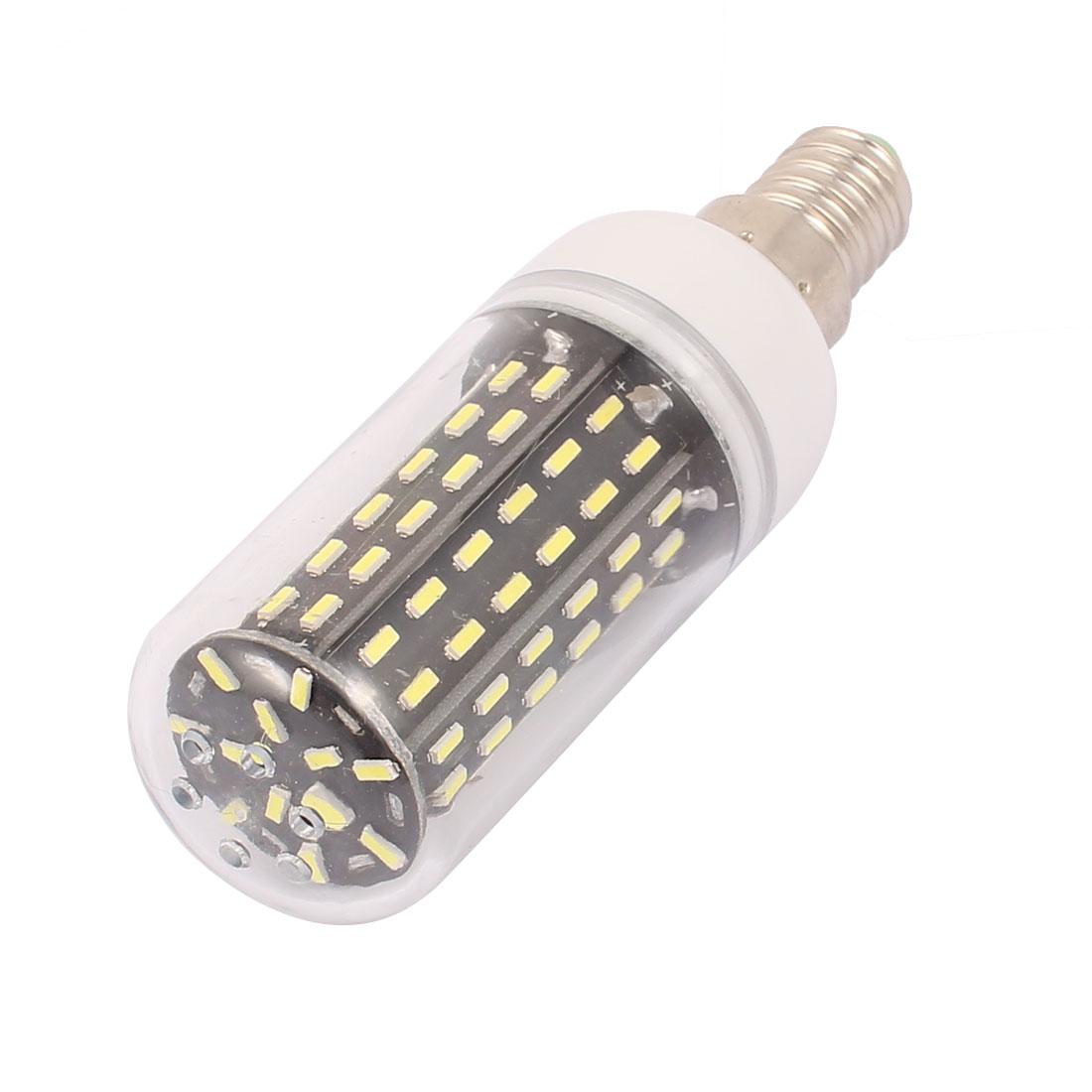 AC 220V New Super Bright E14 9W 96 LEDs 4014 SMD Energy Saving Corn Bulb Lamp Pure White