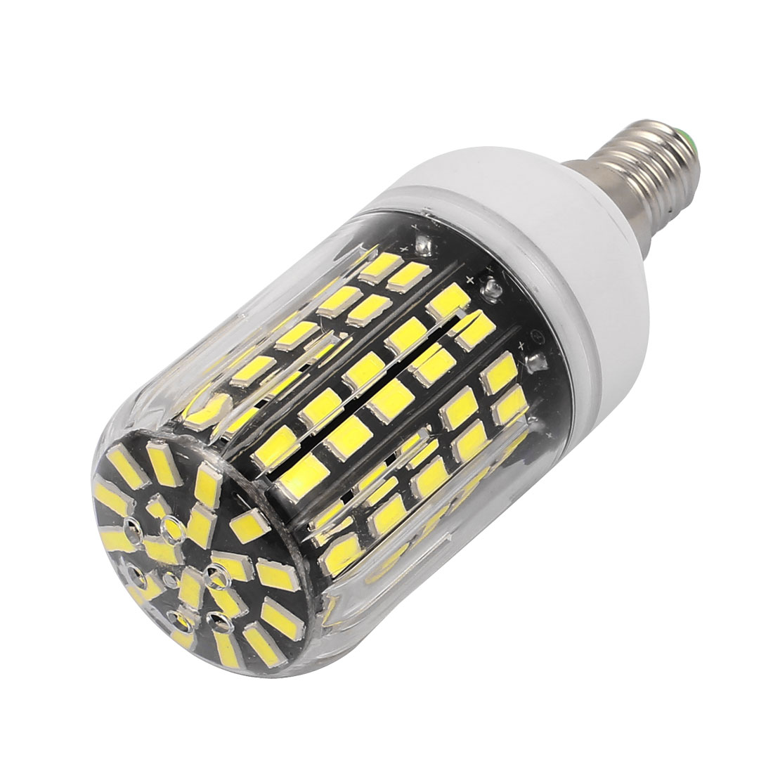 AC220V 10W 108 x 5733SMD E14 LED Corn Bulb Light Lamp Energy Saving Pure White